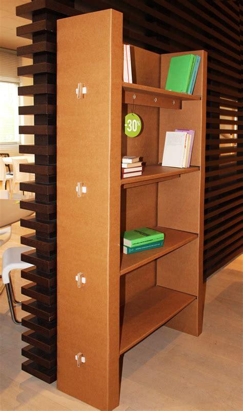 libreria cartone libreria cartone urania kubedesign scontata 30