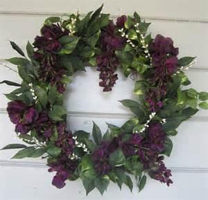 Birthday Door Decorations Floral Wreath Grapevine Wreath Door Wreath Spring By