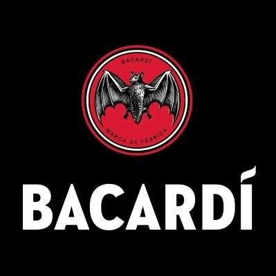 bacardi logo white bacardi bb gun press