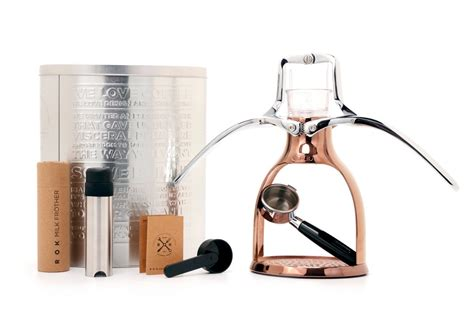 Rok Presso Coffee Maker rok presso espresso maker copper faroutride