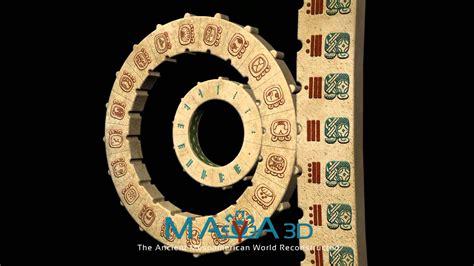 make a mayan calendar calendar 3d animation
