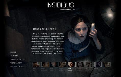 insidious movie quiz insidious 2011 official site rose byrne photo