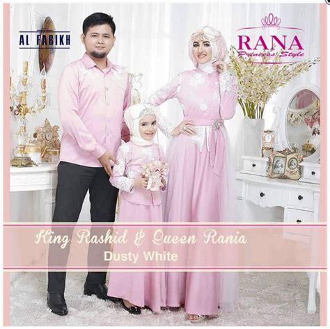 Baju Muslim Keluarga Pesta 15 model baju muslim pesta seragam keluarga modern terbaru