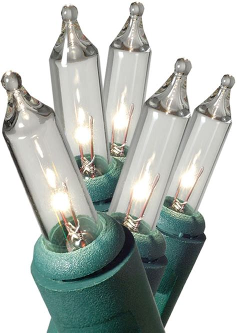 Ge 100ct Merry Mini Christmas Light Set Clear Shop Commercial 100 Ct Clear Mini