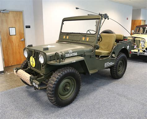 1951 Willys Jeep 1951 Willys M38 Jeep Collection