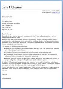 Professional Cover Letter For Resume Sample Cover Letter It Professional Resume Downloads