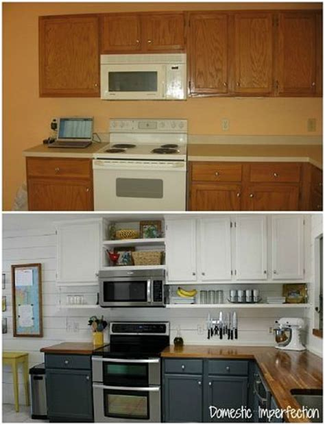 Moving Kitchen Cabinets Budget Kitchen Remodel Idea Move Current Cabinets Up Add Shelf Underneath Cabinet