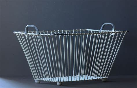 Wire Laundry Baskets Rolling Sierra Laundry Risk Of Metal Laundry
