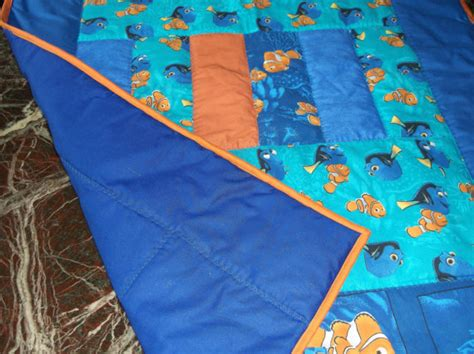 Nemo Quilt by Finding Nemo Quilt Baby Quilt Appx 30 X 38 Sale