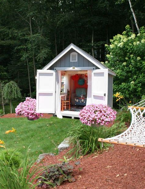 13 lovely quot she sheds quot to inspire your own garden escape