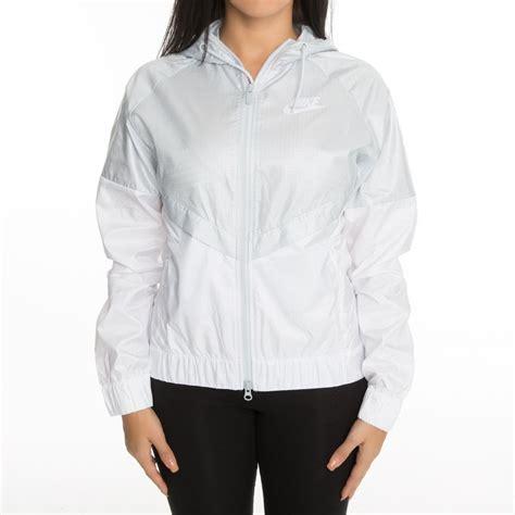 Nike Merqueen Winbreaker Size 40 44 nike sportswear windrunner s jacket white