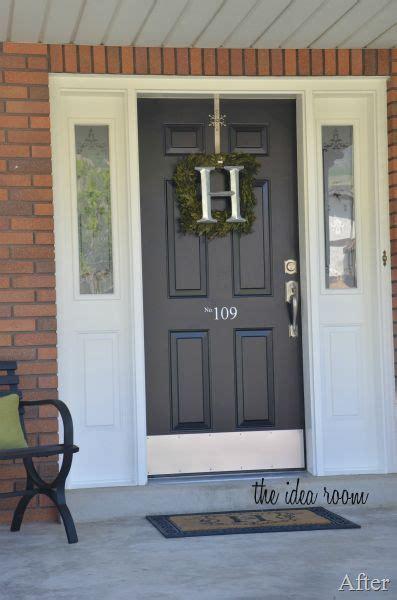 how to get a front door painted best 25 front door numbers ideas on house