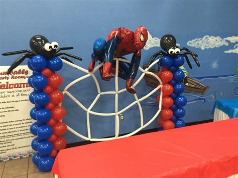 Balloon sculptures gumballs party room
