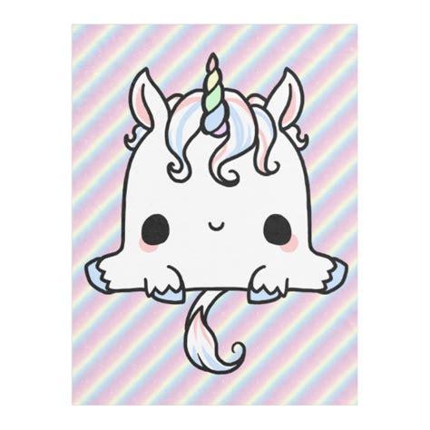 imagenes de muñecos kawaii manta del unicornio de kawaii zazzle es