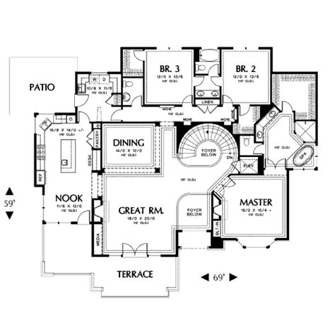 3105 square feet 5 bedrooms 4 batrooms 3 parking space contemporary style house plan 4 beds 3 5 baths 3317 sq ft plan 48 429