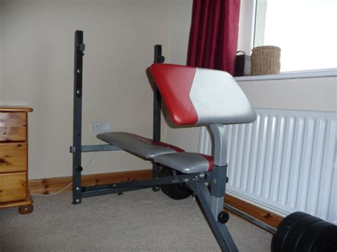 bench and dumbbell set bench and barbell dumbbell set for sale in athlone