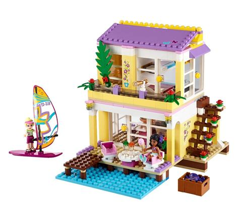 lego friends stephanie s house lego 41037 stephanie s beach house i brick city