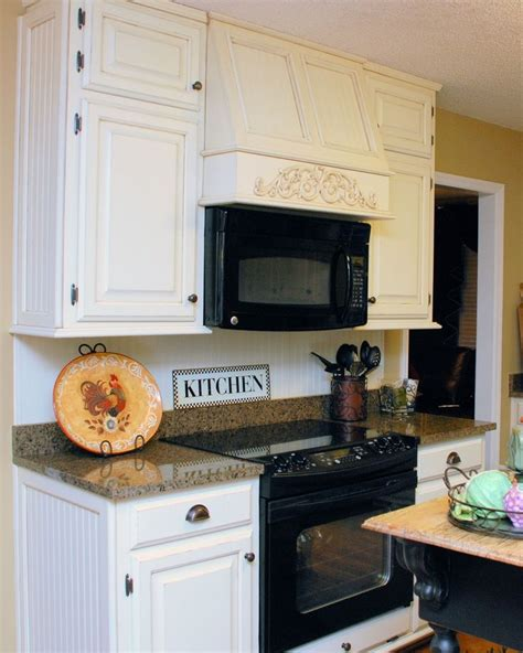 Updating White Kitchen Cabinets Southern Inspirations My Quot Quot Kitchen Microwave Kitchen Ideas Microwave