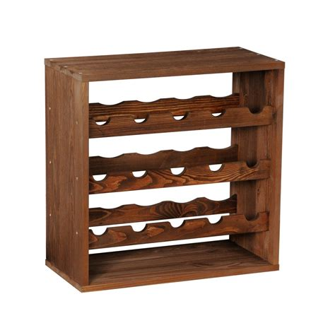 Wood Wine Rack by Wooden Wine Rack System Cube 50 Tobacco Winerack Plus Co Uk