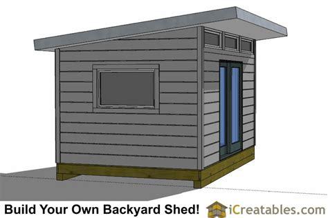 modern shed plans  office shed plans studio
