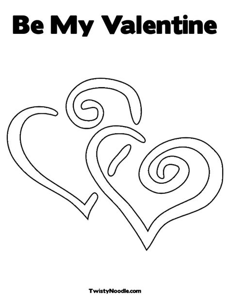 be my valentines coloring pages