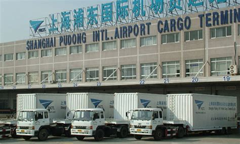 record air cargo volume flows through shanghai terminal