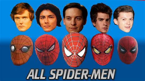 actor de spiderman 3 every spider man actor ever updated from the 70s to tom