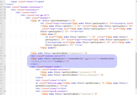 how to change a header for the magento cms or module page magento how to add a new static block to the header