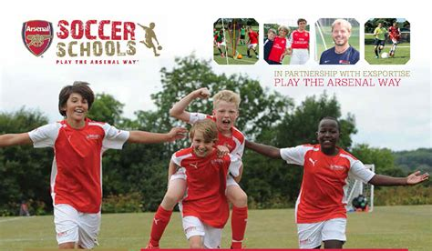 arsenal academy arsenal soccer schools arsenal soccer cs and training