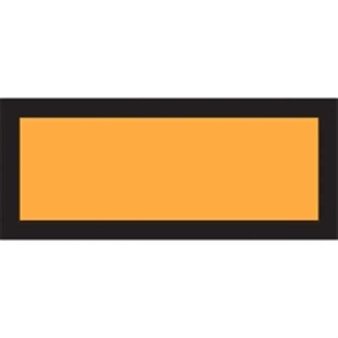 Gefahrgut Aufkleber Kaufen by Gefahrgut Warntafel Blanco In Hell Orange Aufkleber Shop