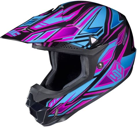 purple motocross 139 99 hjc womens cl x6 fulcrum helmet 2013 195916
