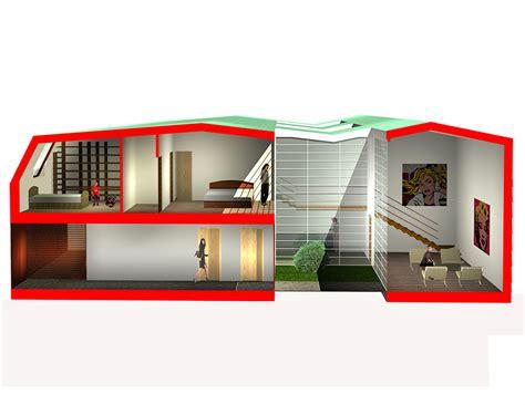 appartamento duplex significato con pozzo luce serra in casa moderne gli