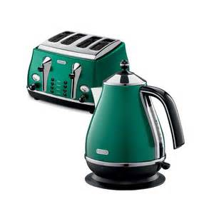 Delonghi Vintage Icona Kettle And Toaster Set Delonghi Green Kettle And Toaster