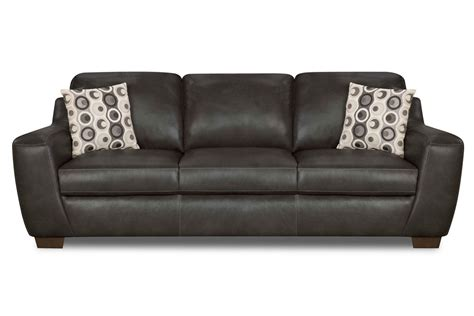 Naples Leather Sofa Naples Leather Sofa Naples 3 2 Seater Black Thesofa