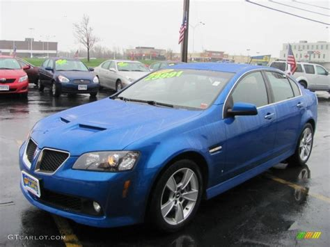 Pontiac Blue by 2009 Stryker Blue Metallic Pontiac G8 Gt 48770529