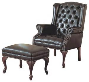 Wing Chairs With Ottoman Design Ideas Monarch Specialties 8090 Wing Chair And Ottoman In