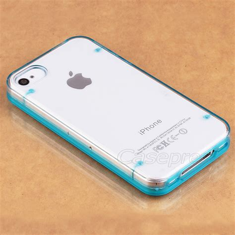 Bumper Ultrathin Iphone 4 4s Recommended for apple iphone 4 4s ultra thin transparent clear tpu bumper cover ebay