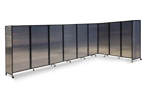 room divider 360 wall mounted partition 360 polycarbonate portable partitions company