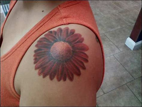 daisy shoulder tattoo shoulder img552 171 on shoulder 171 tatto on
