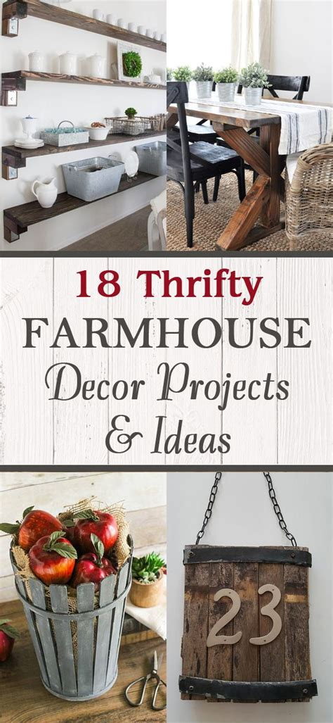 20 quot salvaged quot budget friendly farmhouse projects page 2 18 thrifty farmhouse decor projects ideas einrichtung