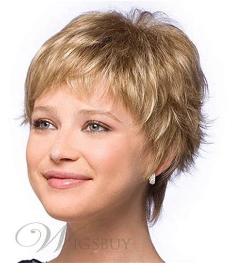 hairstyles with fullness stylish beautiful carefree short hairstyle straight full