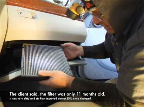 Do I Need A Cabin Air Filter by Cabin Air Filter Replacement Lexus Ls430 Www