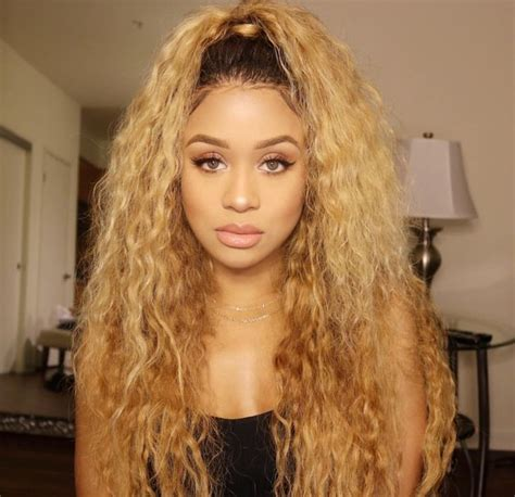 blonde hairstyles black girl 129 best images about jilly anais on pinterest glow