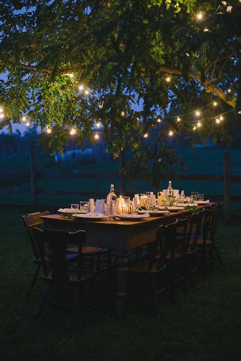 Backyard Dinner by 17 Beste Idee 235 N Lichtslingers Op