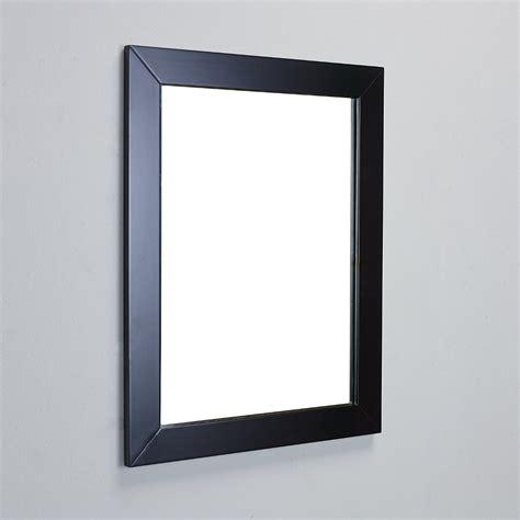 eviva sun 174 24 quot espresso framed bathroom wall mirror