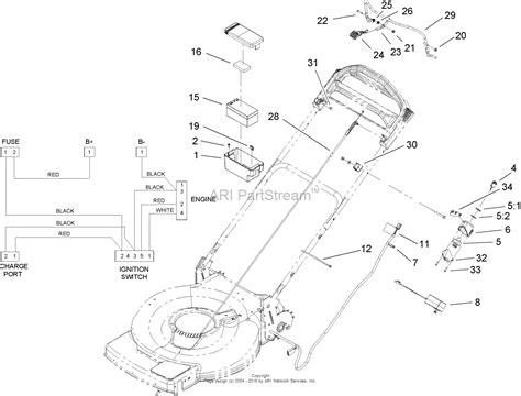 toro mower parts diagram toro 20076 22in recycler lawn mower 2007 sn 270000001