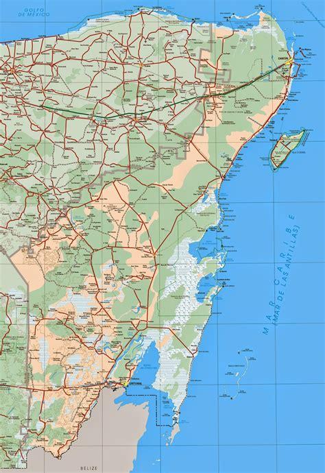 map cancun mexico mapas de cancun m 233 xico mapasblog