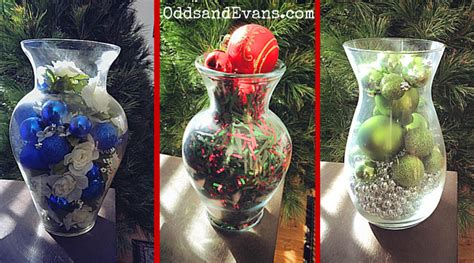 christmas vases diy decorations for the holidays odds