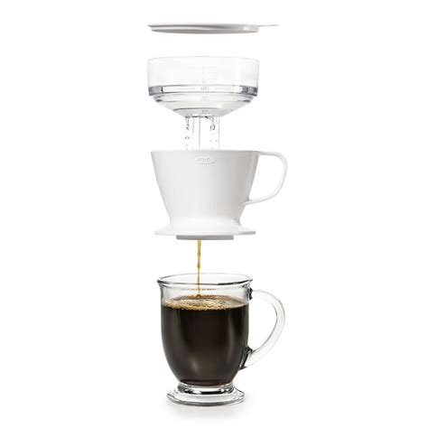 Coffee Dripper pour coffee dripper with water tank oxo grips