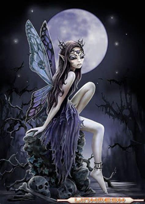 imagenes de hadas negras la cueva del vampiro hadas negras